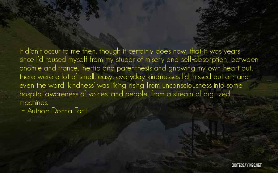 Inertia Quotes By Donna Tartt