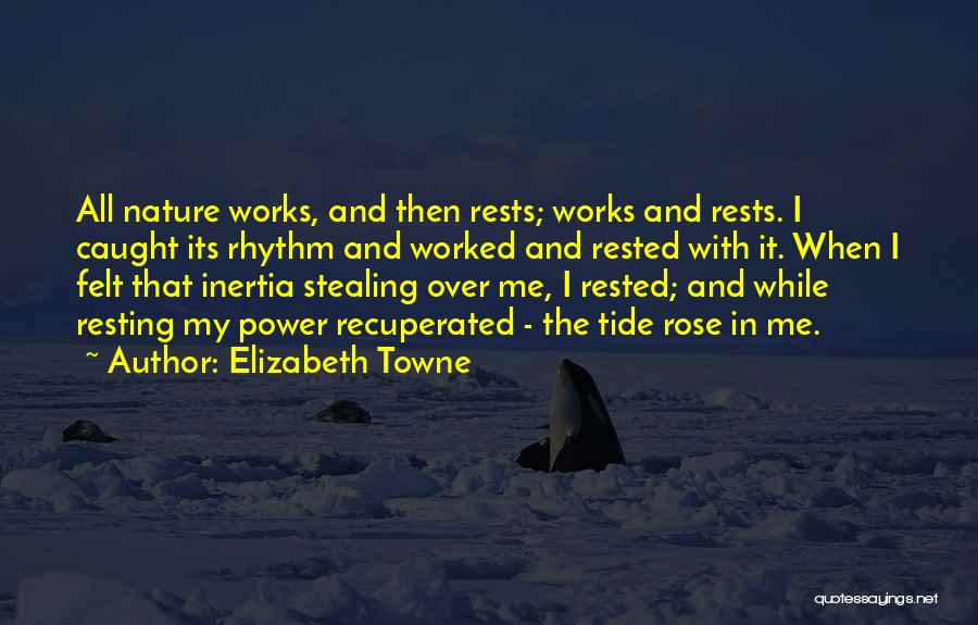 Inertia Quotes By Elizabeth Towne
