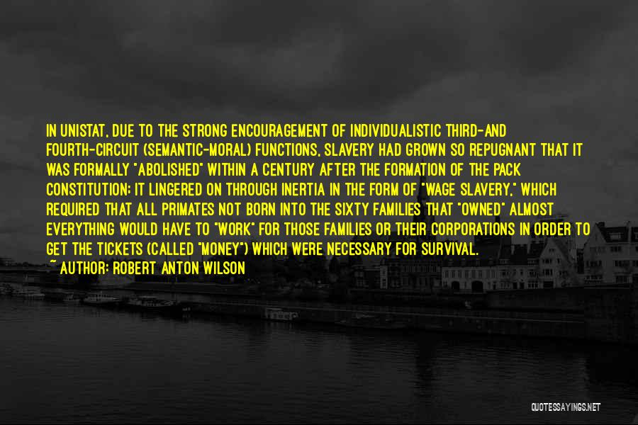Inertia Quotes By Robert Anton Wilson