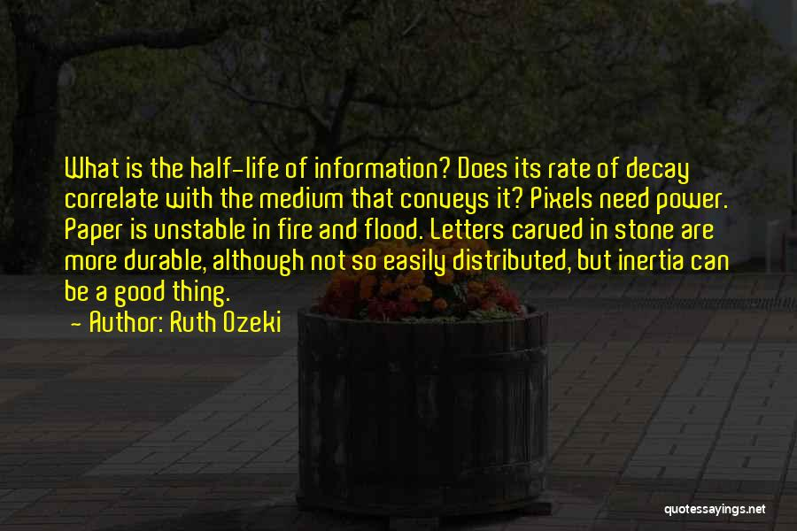 Inertia Quotes By Ruth Ozeki