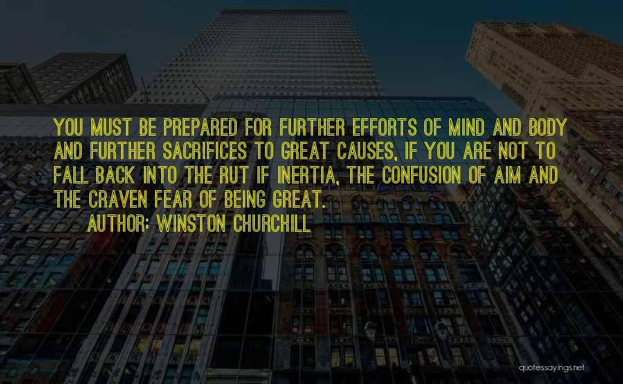 Inertia Quotes By Winston Churchill