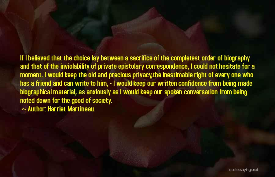 Inestimable Quotes By Harriet Martineau