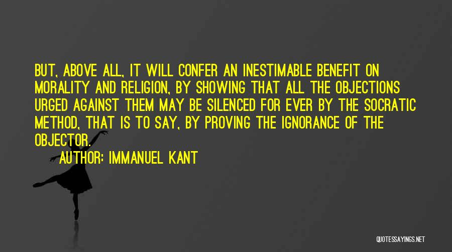 Inestimable Quotes By Immanuel Kant
