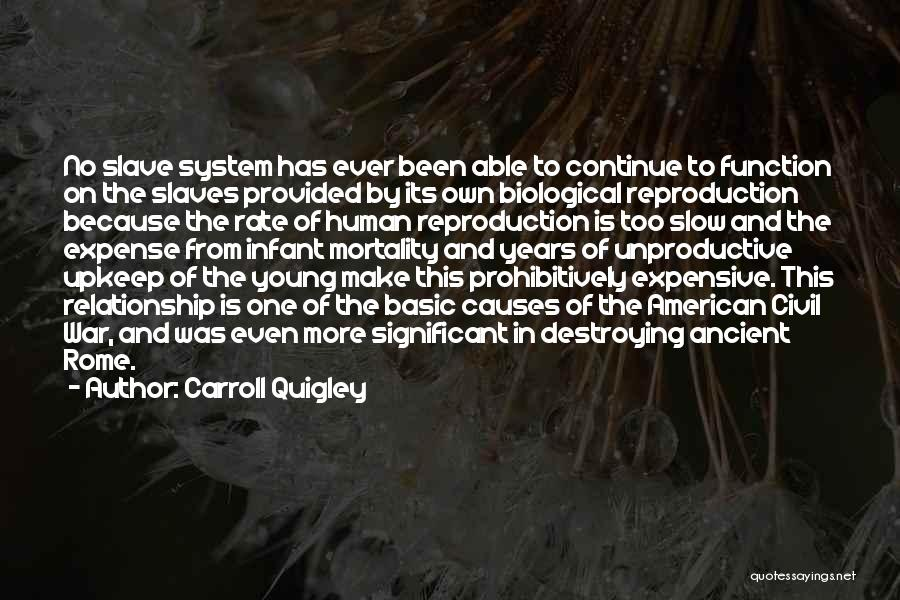 Infant Quotes By Carroll Quigley