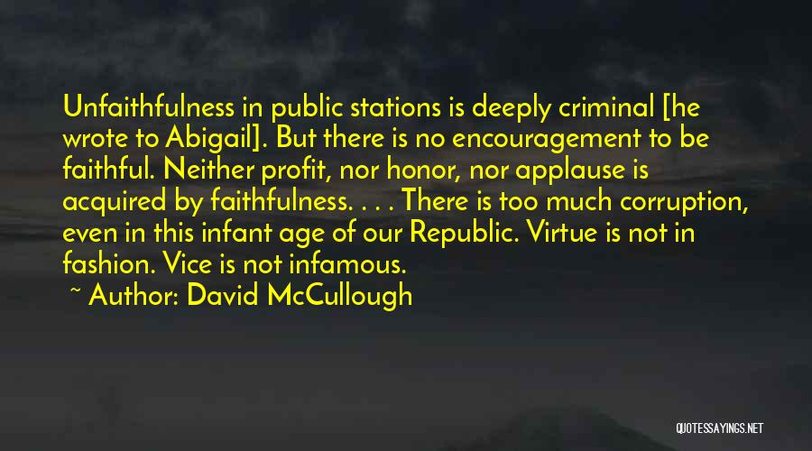 Infant Quotes By David McCullough