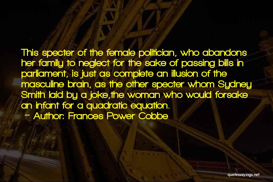 Infant Quotes By Frances Power Cobbe
