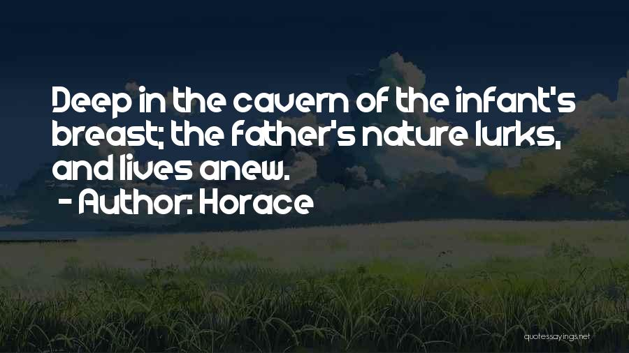 Infant Quotes By Horace