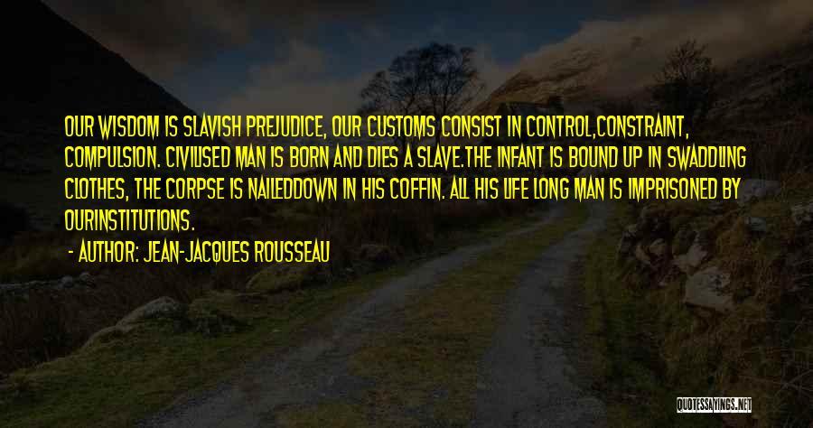 Infant Quotes By Jean-Jacques Rousseau