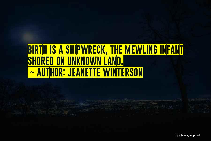 Infant Quotes By Jeanette Winterson