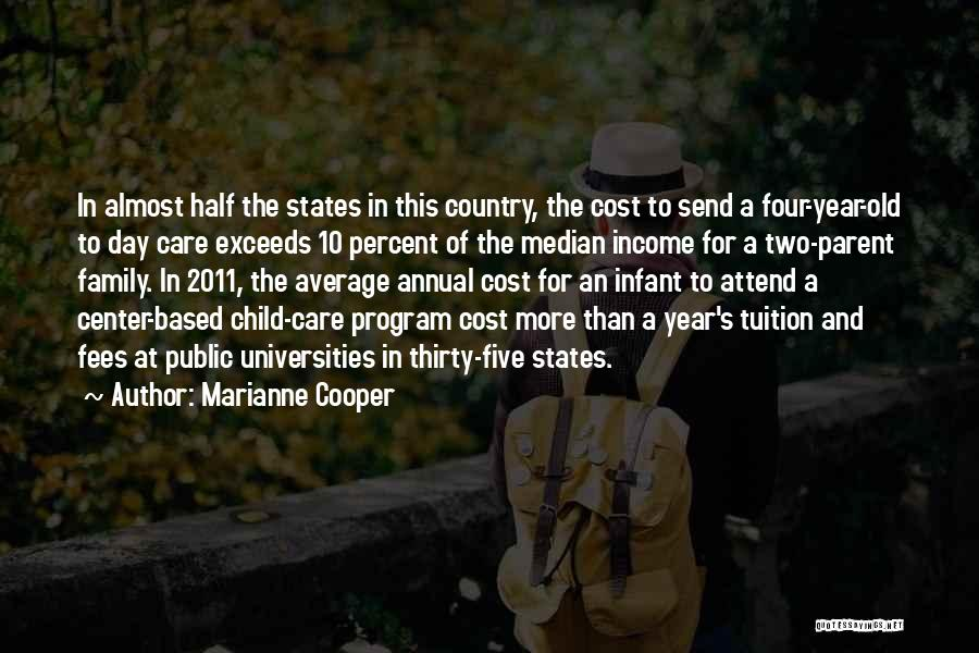 Infant Quotes By Marianne Cooper