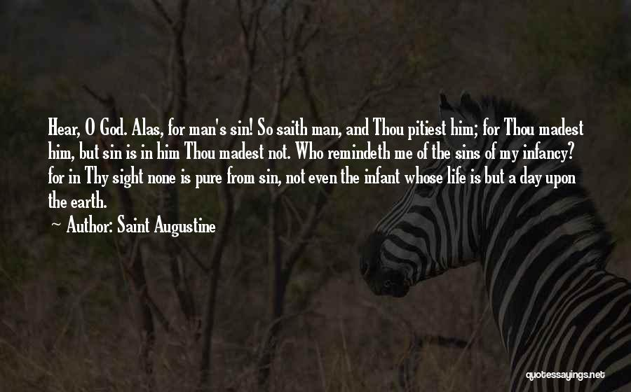 Infant Quotes By Saint Augustine