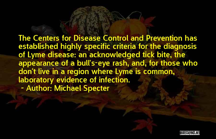 Infection Prevention And Control Quotes By Michael Specter