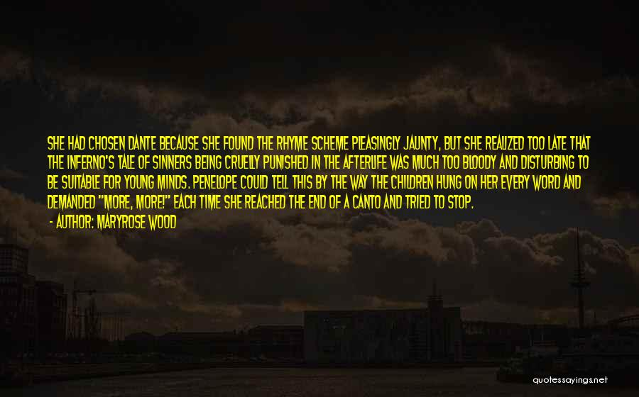 Inferno Canto 3 Quotes By Maryrose Wood