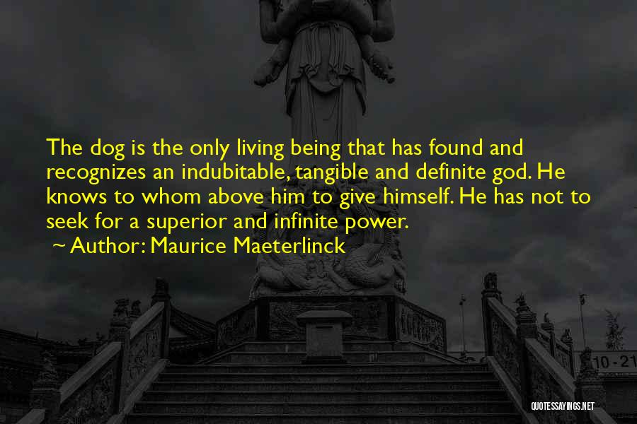 Infinite Power Quotes By Maurice Maeterlinck