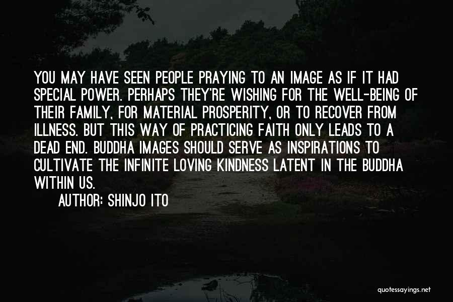 Infinite Power Quotes By Shinjo Ito