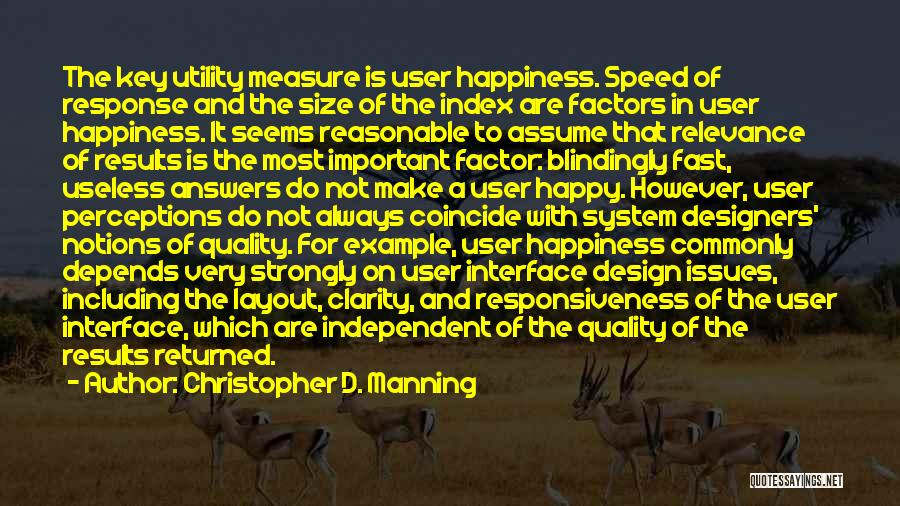 Information System Quotes By Christopher D. Manning