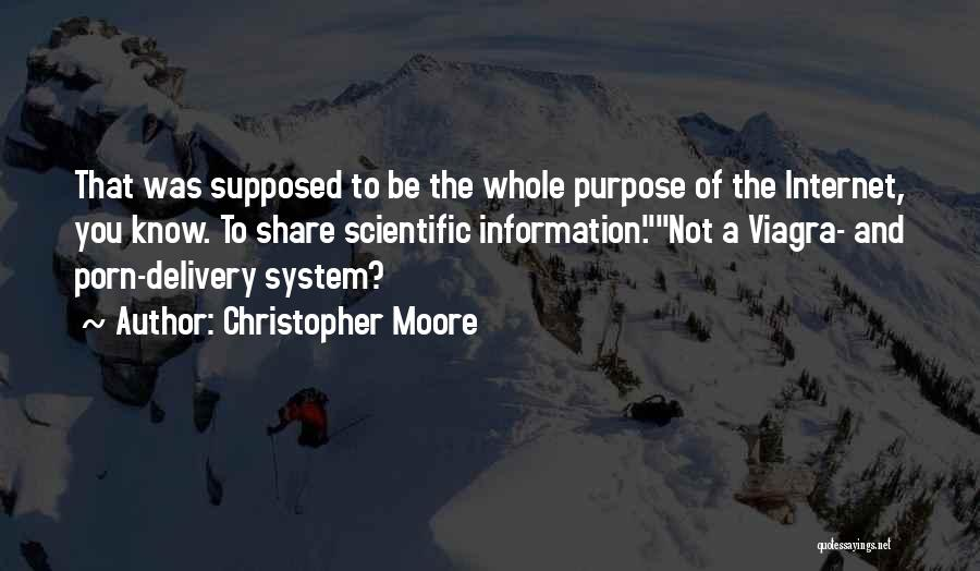 Information System Quotes By Christopher Moore