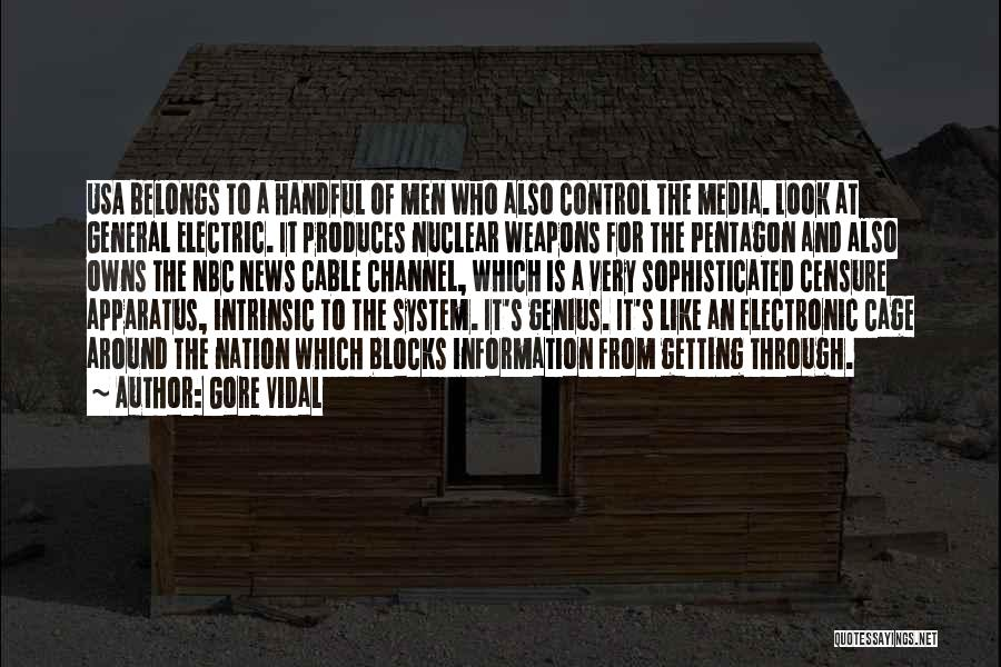 Information System Quotes By Gore Vidal