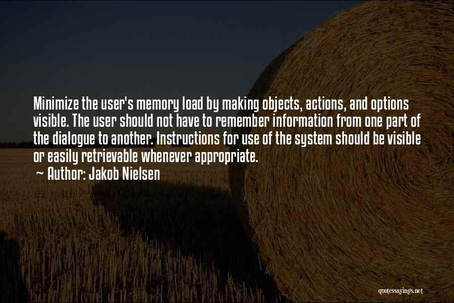 Information System Quotes By Jakob Nielsen