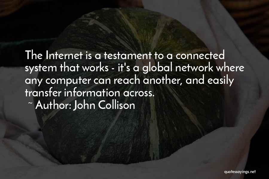 Information System Quotes By John Collison