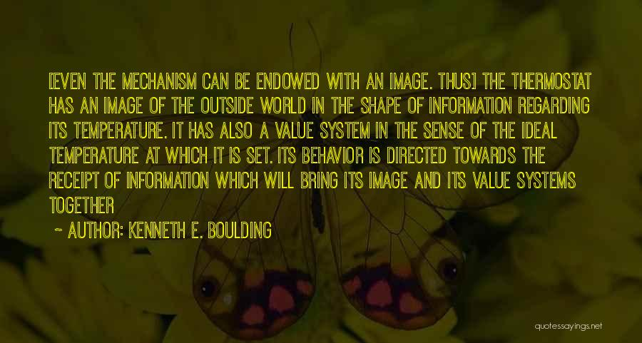 Information System Quotes By Kenneth E. Boulding