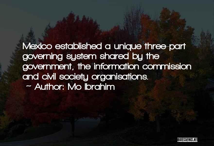 Information System Quotes By Mo Ibrahim