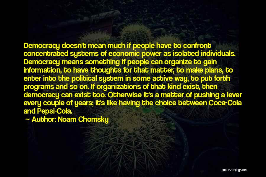Information System Quotes By Noam Chomsky