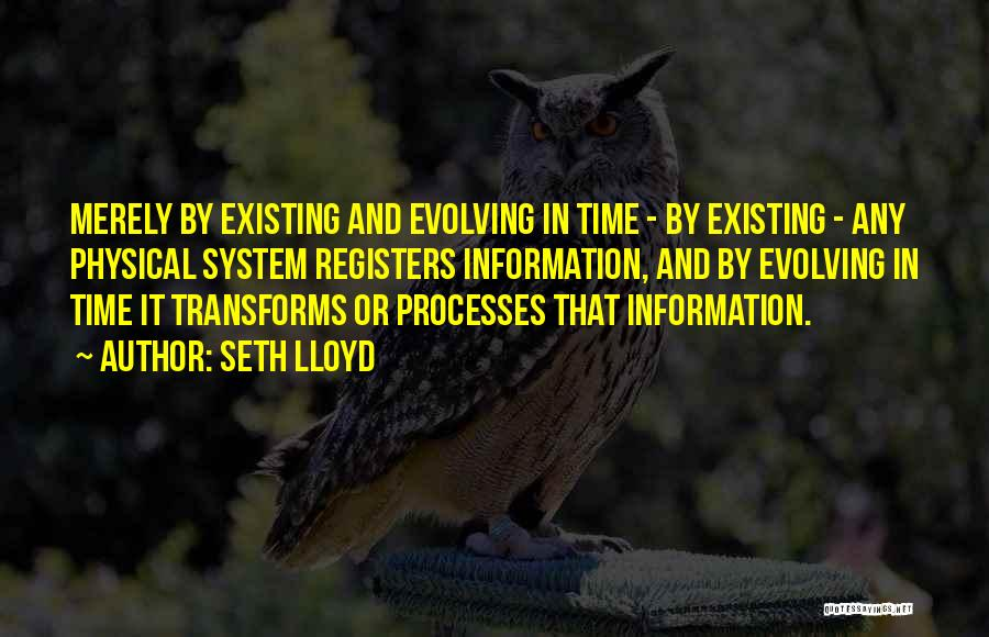 Information System Quotes By Seth Lloyd
