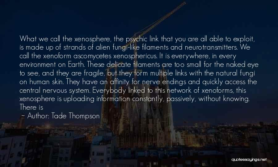 Information System Quotes By Tade Thompson