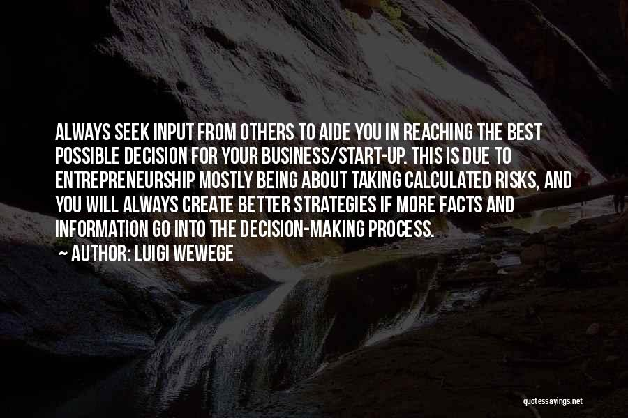 Information Technology In Business Quotes By Luigi Wewege