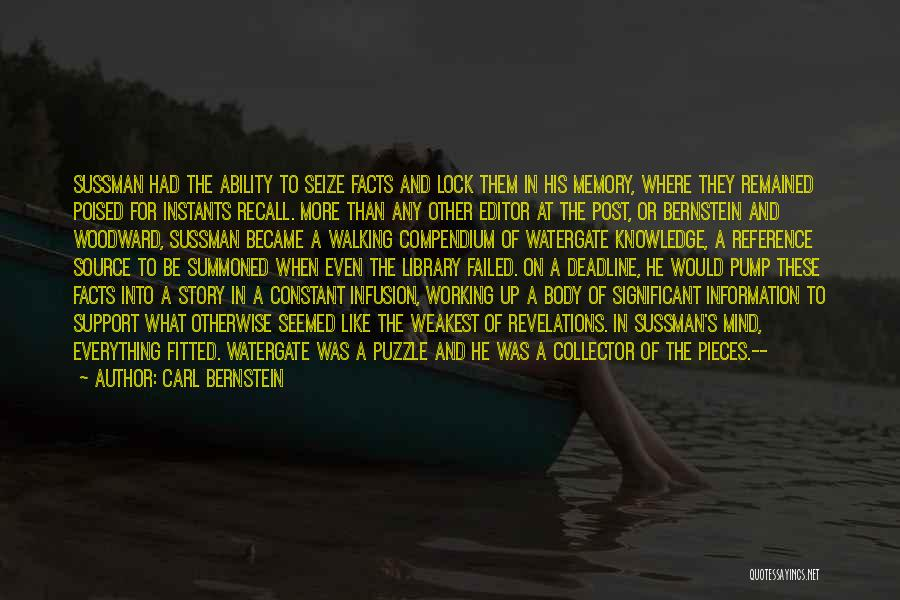 Infusion Quotes By Carl Bernstein