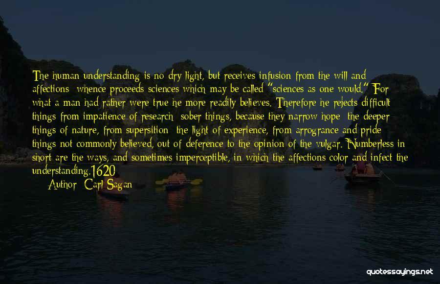 Infusion Quotes By Carl Sagan