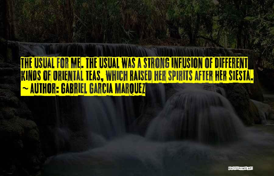 Infusion Quotes By Gabriel Garcia Marquez