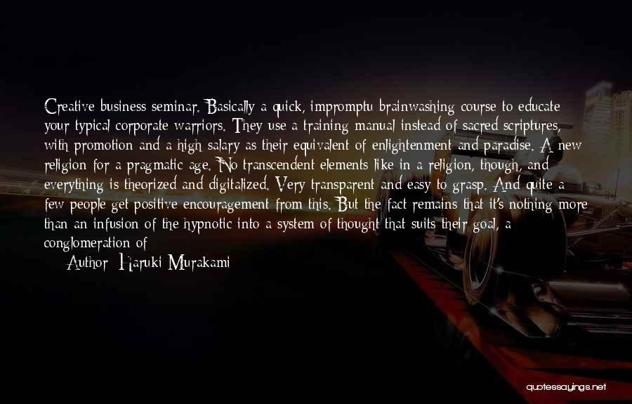 Infusion Quotes By Haruki Murakami