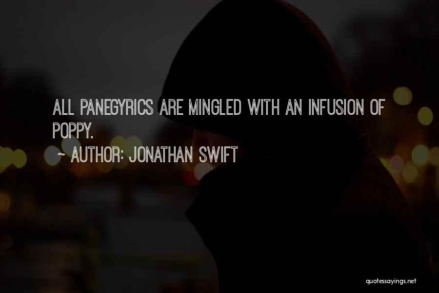 Infusion Quotes By Jonathan Swift