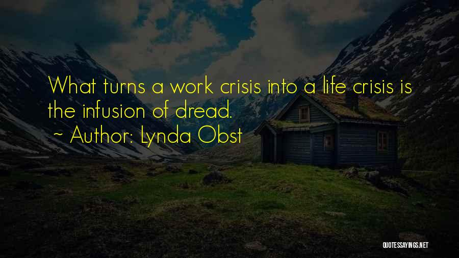 Infusion Quotes By Lynda Obst