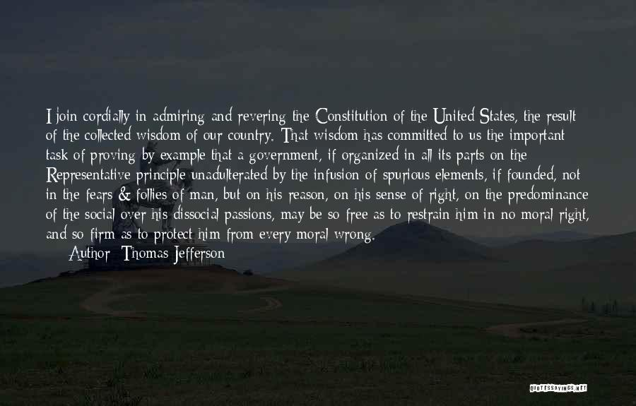 Infusion Quotes By Thomas Jefferson