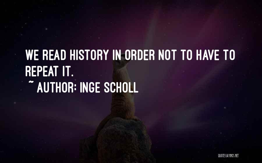 Inge Scholl Quotes 143853