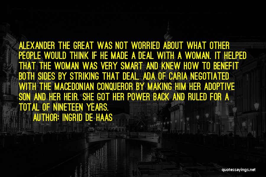 Ingrid De Haas Quotes 1947030