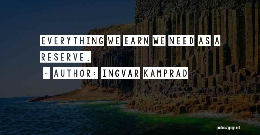 Ingvar Kamprad Quotes 2137351