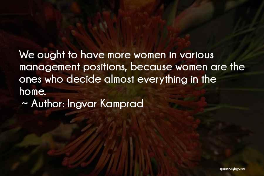 Ingvar Kamprad Quotes 957009