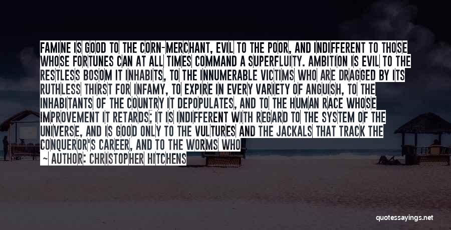 Inhabitants Quotes By Christopher Hitchens