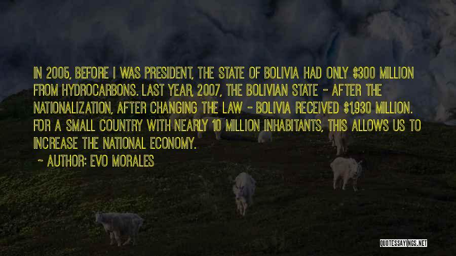 Inhabitants Quotes By Evo Morales