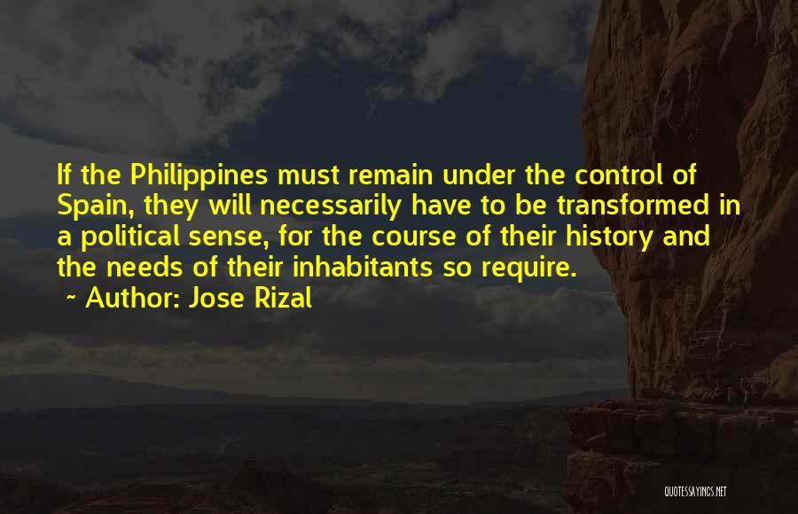 Inhabitants Quotes By Jose Rizal