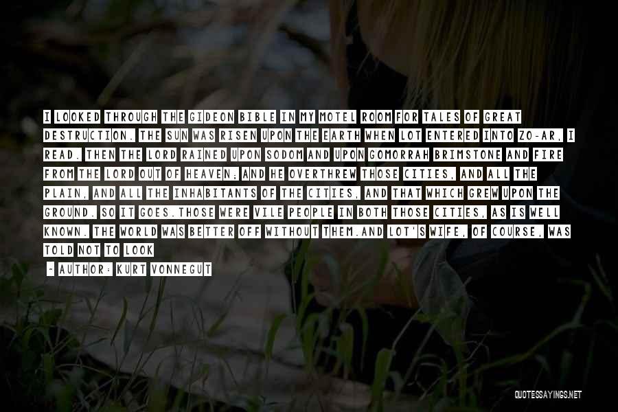 Inhabitants Quotes By Kurt Vonnegut