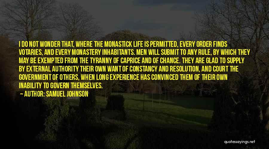 Inhabitants Quotes By Samuel Johnson