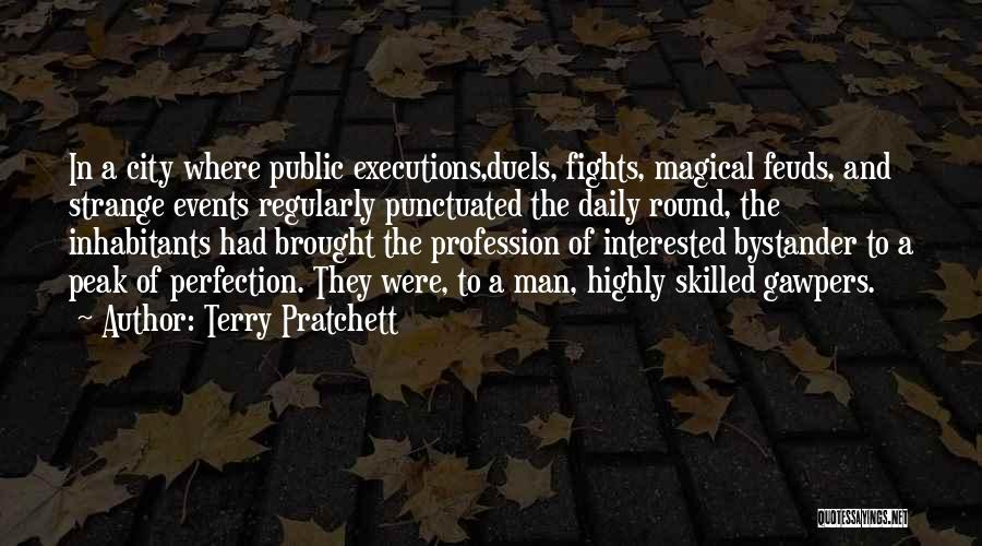Inhabitants Quotes By Terry Pratchett