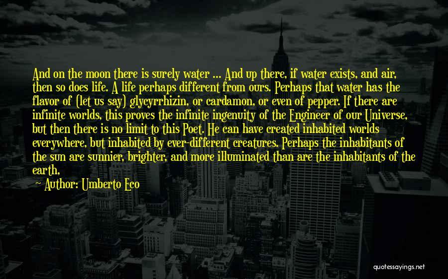 Inhabitants Quotes By Umberto Eco
