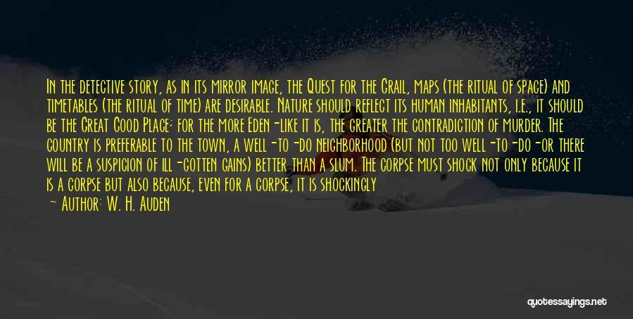 Inhabitants Quotes By W. H. Auden