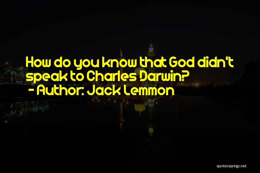 Inherit The Wind Quotes By Jack Lemmon